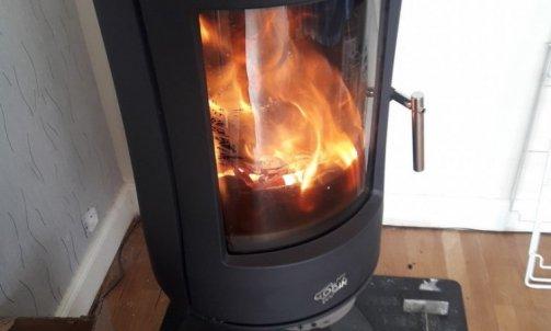 Allumage Poêle Godin - plombier chauffagiste Giat