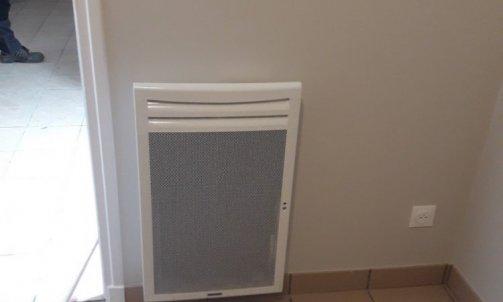 Radiateur rayonnant vertical - plombier chauffagiste Giat